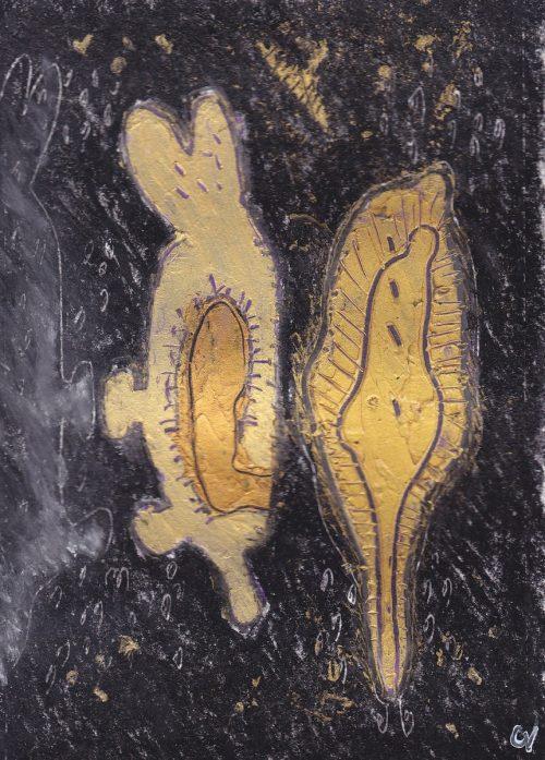 10siteptforamtenchainements-nodule-1-01-acrylique-et-craie-sur-papier-12-x-17